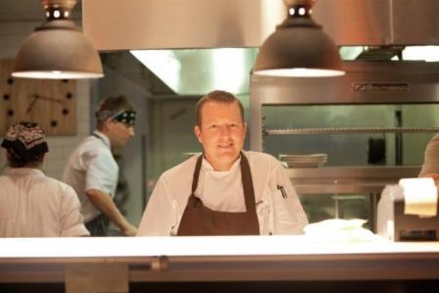 Chef Justin Beckett Kitchen