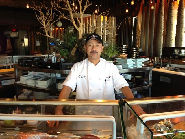 Chef Shin Toyoda