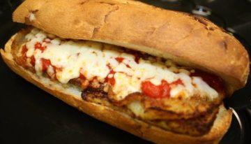 Recipe: Chicken Parmesan Sandwich