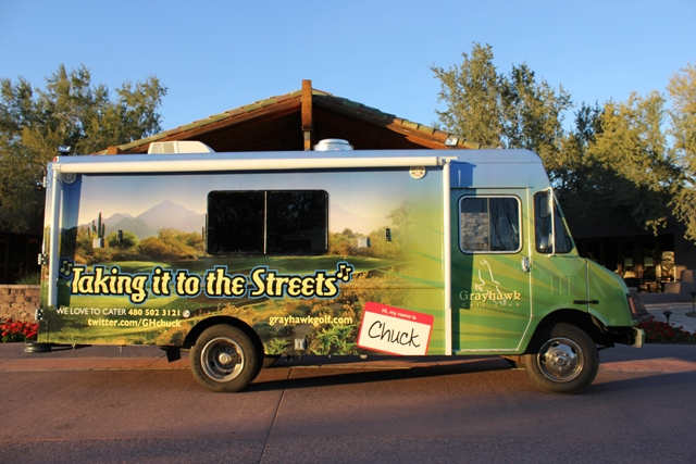 Scottsdale Golf Club Announces Food Truck