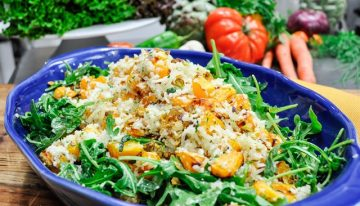 Recipe: Cauliflower, Butternut Squash and Arugula Salad