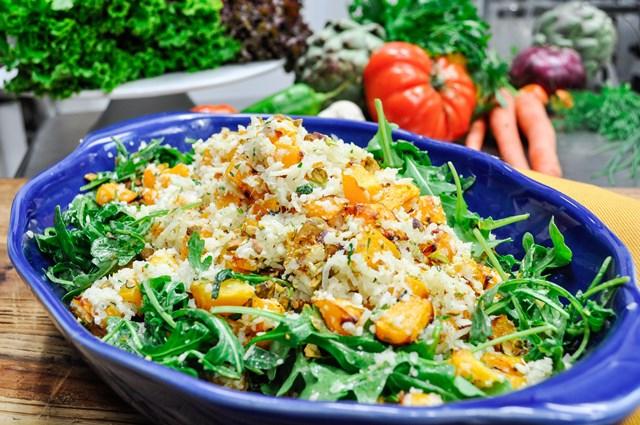 Recipe: Cauliflower, Butternut Squash and Arugula Salad