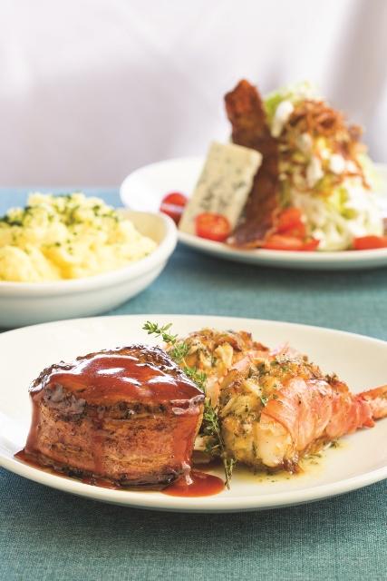 Flemings Restaurant Food