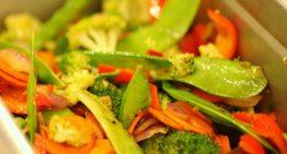 Taste of the NFL Recipe: Foosia Wok Stir-Fried Vegetables