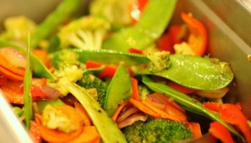 Taste of the NFL Recipe: Foosia Wok Stir-Fried Vegetables