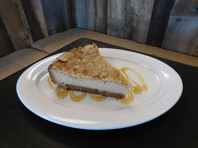 ... Greek honey-and-cheese pie called Melopita. It is similar to a
