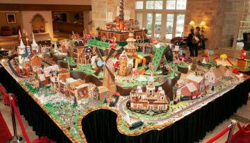 Phoenix Resorts Host Gingerbread Villages