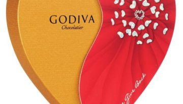 Godiva Partners With Elton John AIDS Foundation This Valentine's Day