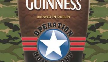 Guinness Promotion Aids Troops