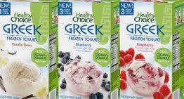 Grocery Great: Healthy Choice Frozen Greek Yogurt