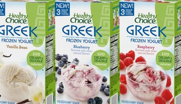 Grocery Great: Healthy Choice Frozen Greek Yogurt
