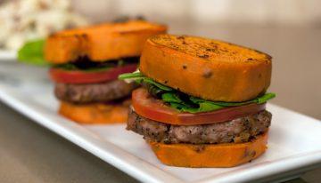Recipe: Sweet Potato Turkey Burger Sliders