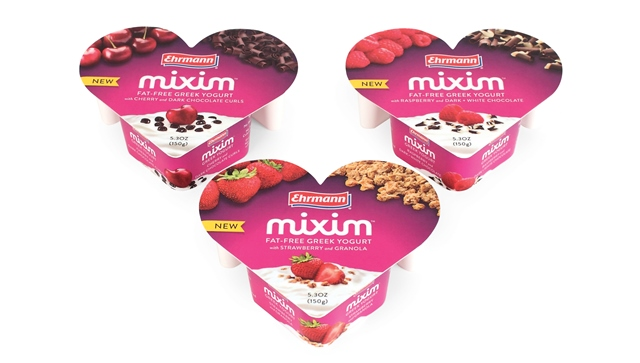 Mixim Greek Yogurt three flavors