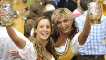 Saturday: Oktoberfest at Brat Haus