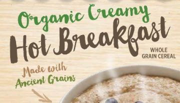 Grocery Great: Bakery on Main's Organic Creamy Hot Breakfast