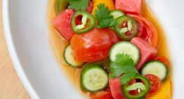 Your Go-To Summer Dish: Organic Heirloom Tomato & Watermelon