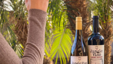 "Pita Jungle Debuts New ""Jungle Vino"" Cabernet and Chardonnay"