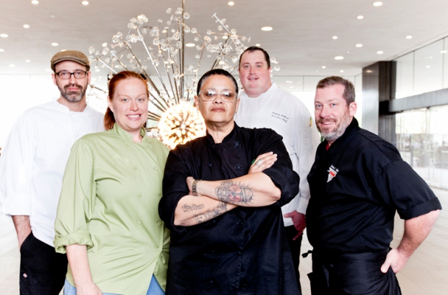 "Chefs Josh Hebert, Charleen Badman, Bernie Kantak, Greg LaPrad and Silvana Salcido Esparza have been named the ValleyÕs five ""edgiest"" chefs to be honored at the inaugural Ripe awards Thursday, Jan. 31."