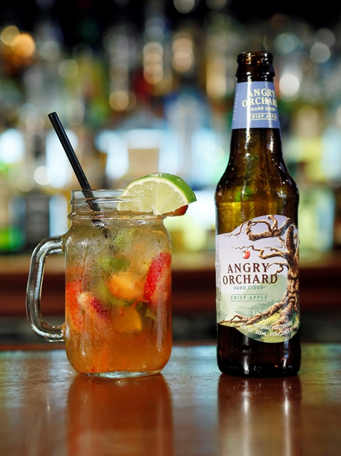 Angry Orchard Mixologist shoot in New York, Tuesday, Sept. 18, 2012. (Photo/Stuart Ramson)
