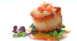 Recipe: Sea Scallop with Sweet Potato Ravioli