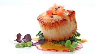 Recipe: Sea Scallop with Sweet Potato Ravioli