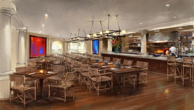 Scottsdale Resort restaurant rendering