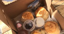 The Teapot's Pumpkin, Berry, and Traditional Scone Box
