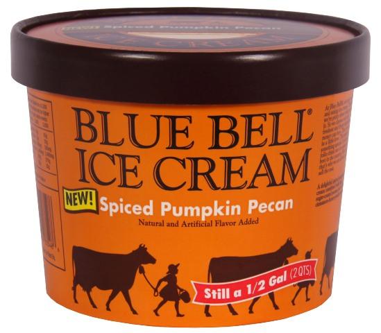Spiced Pumpkin Pecan Ice Cream