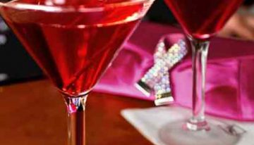 Drink Pink at Fleming's
