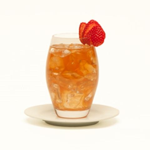 Strawberry Peppercorns Peach Tea Drink (square)