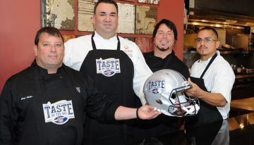 Taste of the NFL Flavors of the Valley Winners Announced