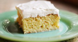 Recipe: Egg Nog Tres Leche