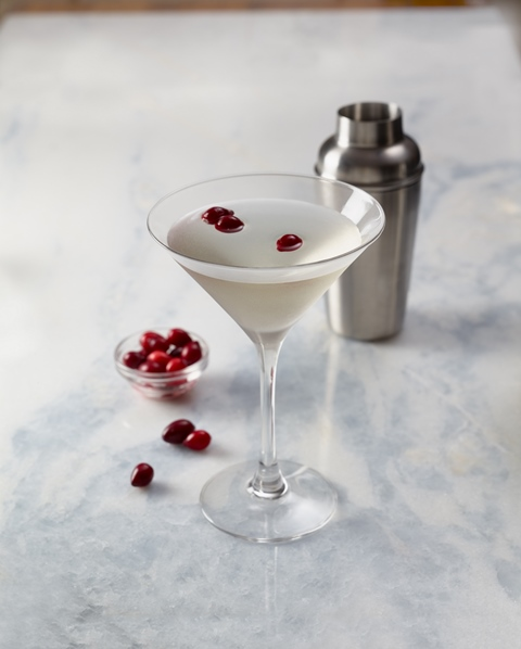 ... white cocktails. Dish up Bonefish Grill's Winter White Cosmo at your