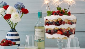 Recipe: Red, White & Blue Layered Dessert