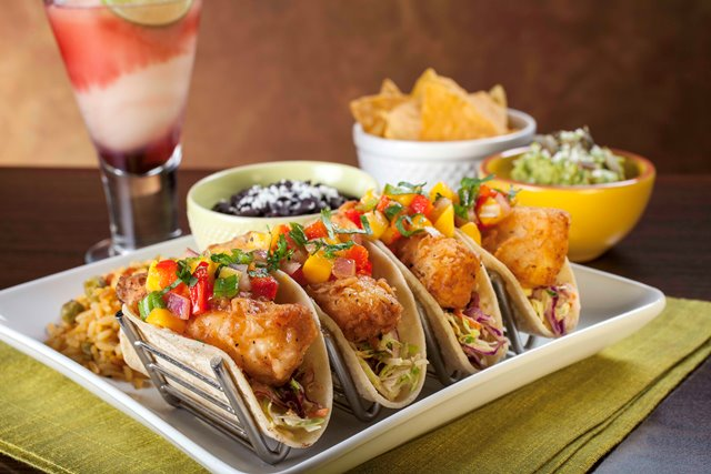 ZTejas Spring Menu Fish Tacos