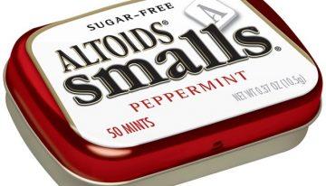 Sweet Sensation: Altoids Smalls