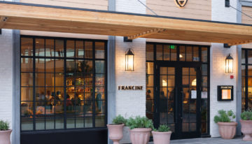 FRANCINE Restaurant Adds Outdoor Dining in Time for Perfect Patio Weather