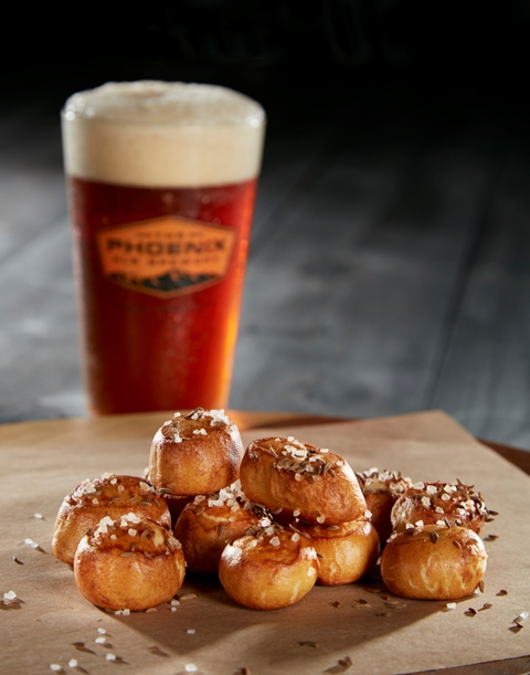 central kitchen Pretzel Bites with Beer