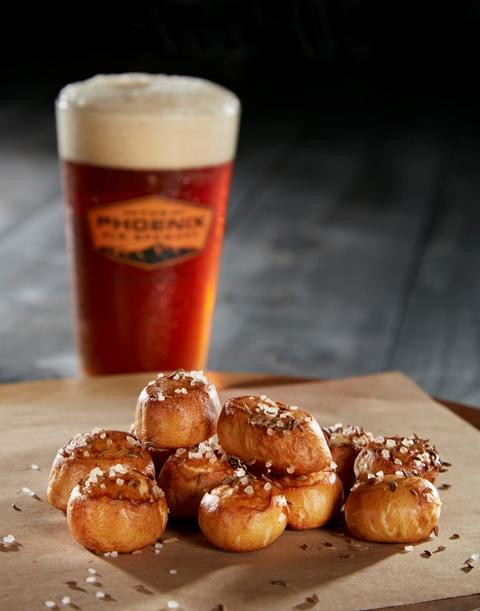 central kitchen Pretzel Bites with Beer