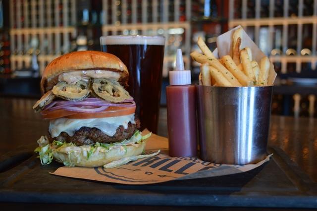 del friscos chorizo burger