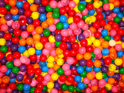 Gumballs at Dylan's Candy Bar