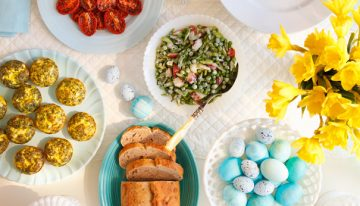 Tips for Easter Brunch at Home by Sassi