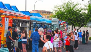 Food Truck Caravan April Schedule