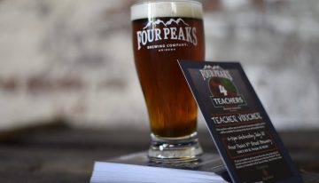 "Four Peaks Brewing Co. Kicks Off ""Four Peaks For Teachers"""