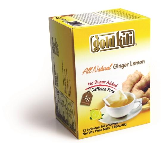 gold killi All Natural Ginger Lemon