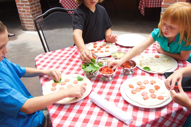 grimaldi's toppings