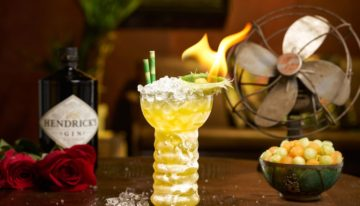 At-Home Happy Hour: Hendrick's Out of Office