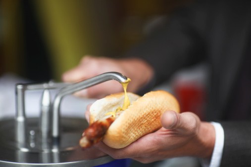 hot dog mustard
