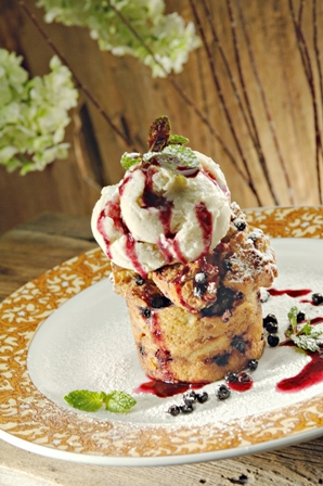 huckleberry-bread-pudding