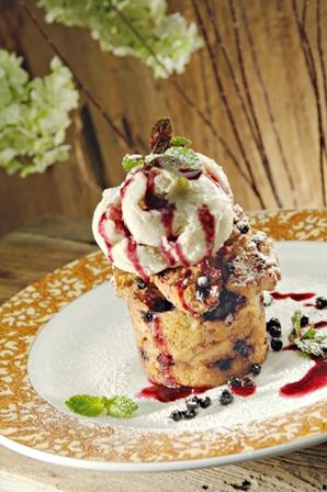 huckleberry-bread-pudding